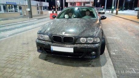 На українсько-польському кордоні затримали викрадений BMW