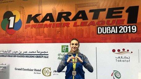 Українські каратистки здобули срібні нагороди на турнірі у Дубаї