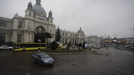 Ремонт площі Двірцевої у Львові розпочнуть 1 березня