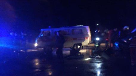 Таксист і його пасажирка загинули у ДТП біля Луцька