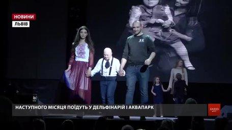 У Львові для дітей з вадами здоров'я влаштували Весняний бал