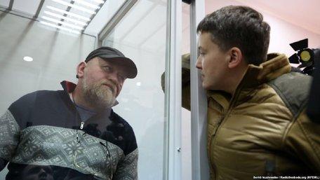 e6e0babda96c3f Надію Савченко та Віктора Рубана звільнили з-під варти в залі суду