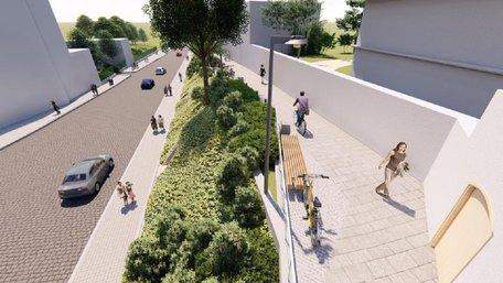 На вул. Коперника у Львові облаштують пішохідно-велосипедну зону за 4,4 млн грн