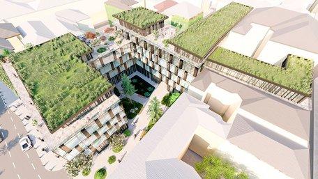 Біля ТРЦ Forum Lviv планують збудувати 5-поверховий готель