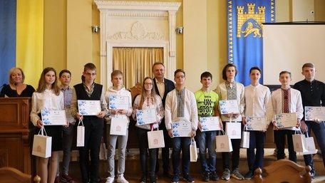 У Львові нагородили переможців учнівських інтернет-олімпіад