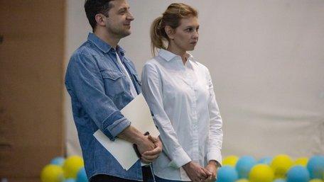 Володимир Зеленський із дружиною відкрив табір для наркозалежних