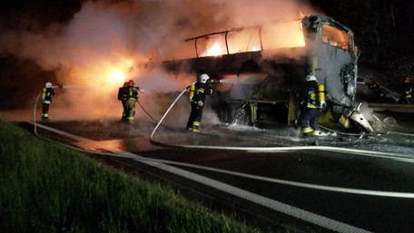 У Польщі вщент згорів рейсовий автобус Київ – Прага