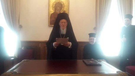 Вселенський патріарх заявив, що Київського патріархату не існує і ніколи не існувало