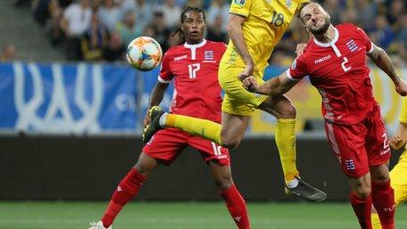 Збірна України перемогла Люксембург на «Арені Львів»