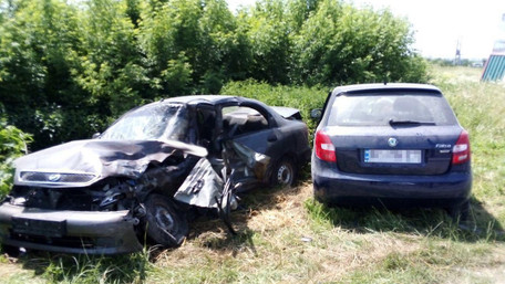 У подвійному зіткненні авто в Городку загинув львів'янин
