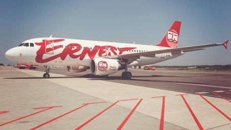 Лоукостер Ernest Airlines планує відкрити офіс в Україні