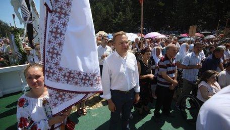 Міський голова Львова взяв участь у прощі до Страдча