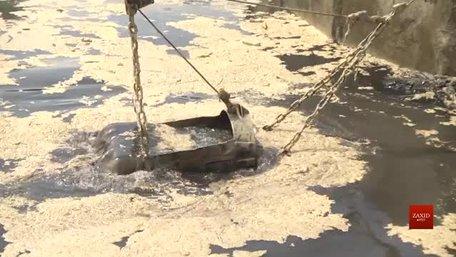 На очисних спорудах «Львівводоканалу» виникла аварійна ситуація через скид невідомої речовини
