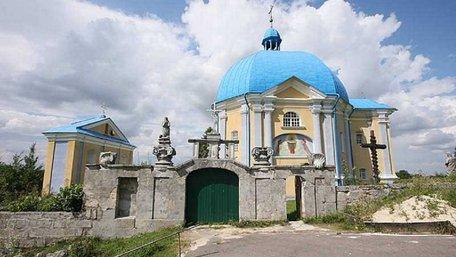 У Підкамені вандали обмалювали фарбою каплицю XVII століття