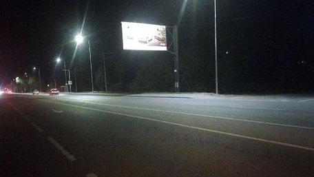 На в'їздах у Львів встановили «розумне» зовнішнє освітлення