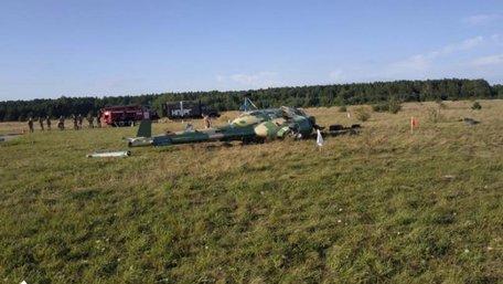 У Бродах розбився військовий вертоліт Мі-2