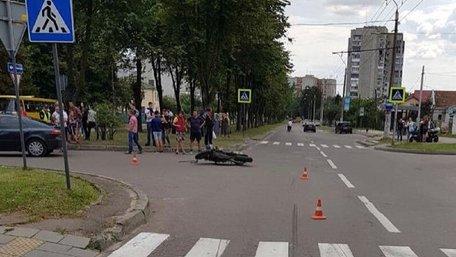 У ДТП на Левандівці загинув 37-річний  мотоцикліст