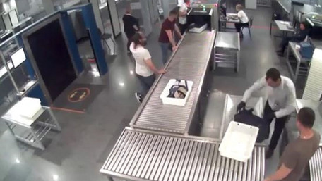 З'явилось відео втечі ізраїльського наркобарона від СБУ в «Борисполі»