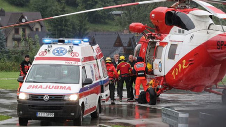 У польських Татрах пройшла потужна буря, є постраждалі та загиблі
