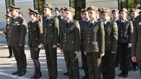 У київському військовому ліцеї вперше почали навчати дівчат