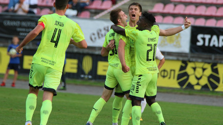 «Рух» переміг «Чорноморець» та піднявся на друге місце у Першій лізі