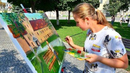 У вересні Жовква перетворилася на арт-резиденцію