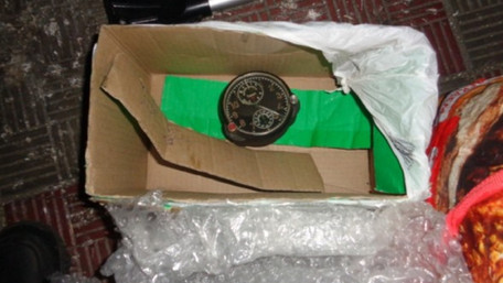Росіянин намагався вивезти з України радіоактивний авіаційний годинник