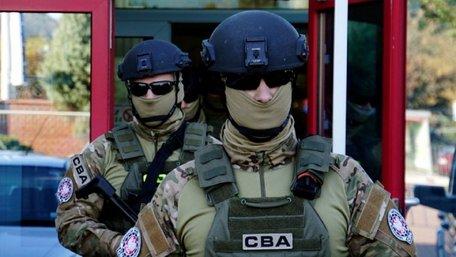За контрабанду бурштину у Польщі затримали українців, які представились працівниками спецслужб