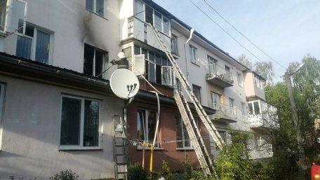 У Бродах внаслідок пожежі у квартирі загинув 86-річний власник