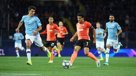 «Шахтар» програв «Манчестер Сіті» у першому матчі Ліги чемпіонів