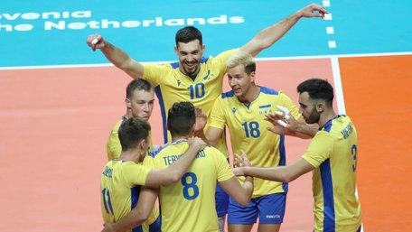 Збірна України з волейболу сенсаційно пробилася до чвертьфіналу чемпіонату Європи