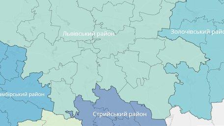 Шість мегарайонів, 67 громад