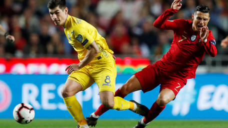Україна перемогла Португалію та вийшла на Євро-2020