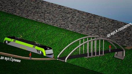 Звинувачена у привласненні коштів з міського бюджету фірма збудує новий пішохідний міст у Львові