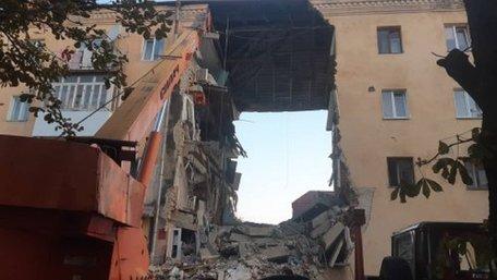 Мерія Дрогобича назвала причину обвалу будинку на вул. Грушевського