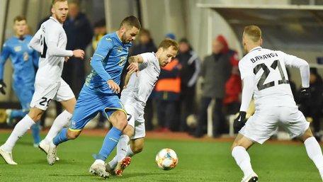 Збірна України перемогла Естонію в товариському матчі