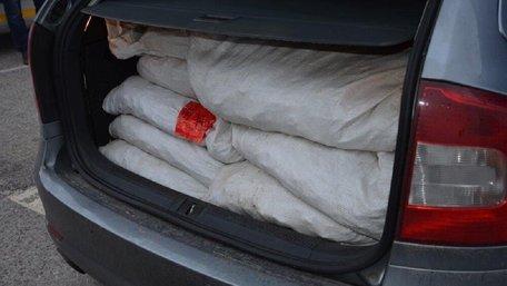 Закарпатські прикордонники пропустили до Словаччини  700 кг нелегального бурштину