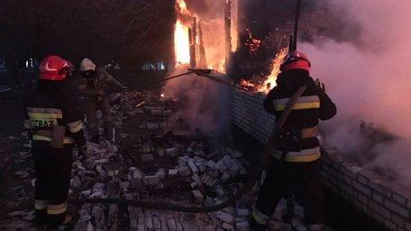 У військовій частині на Львівщині виникла пожежа, є загиблі
