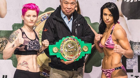 Львів'янка Олена Овчиннікова стала чемпіонкою світу з тайського боксу