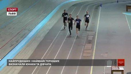 У Львові відбирали легкоатлетів на чемпіонат України
