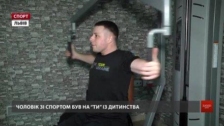 Львівський десантник Віктор Легкодух готується представити Україну на «Іграх Нескорених»
