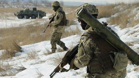 Військовослужбовці ООС пройшли курс стрільби з вогнемета