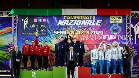 Львівська гімнастка вивела клуб з Сардинії на третє місце чемпіонату Італії