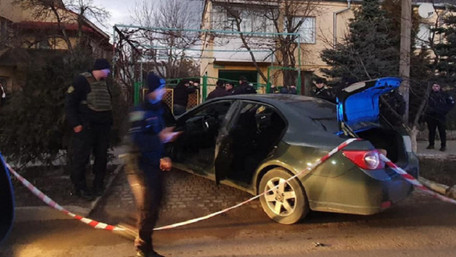 На вул. Науковій у Львові сталась стрілянина і викрадення людини