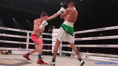 Український боксер Денис Берінчик захистив титул чемпіона WBO International