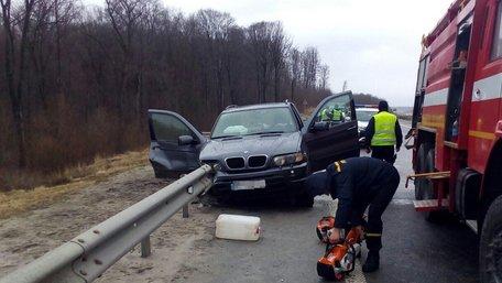 Унаслідок ДТП на трасі Київ–Чоп неподалік Львова загинув пасажир BMW