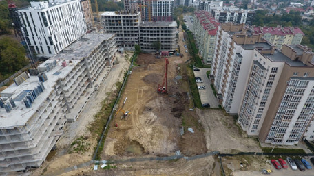 У мікрорайоні Під Голоском у Львові заборонили нове будівництво