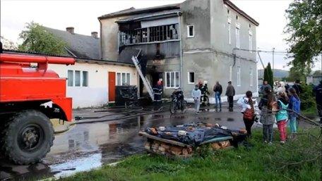 У Старому Самборі виникла пожежа у школі