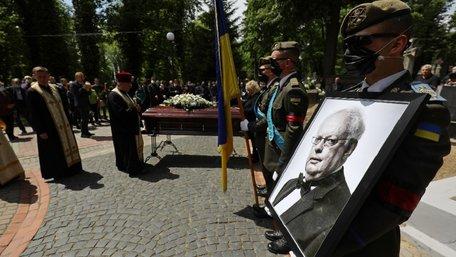 Мирослава Скорика поховали на Личаківському кладовищі