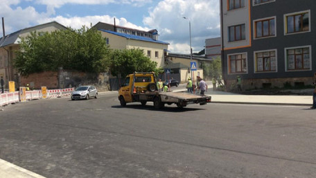 У Львові для проїзду відкрили частину відремонтованої вул. Богдана Хмельницького